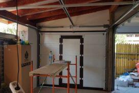 Гаражные подъёмно-секционные ворота Doorhan RSD02 в п. Лисий нос, фото 2