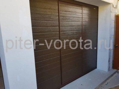 Гаражные подъёмно-секционные ворота Doorhan RSD02 в п. Лисий нос, фото 1