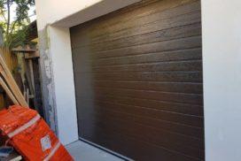 Гаражные подъёмно-секционные ворота Doorhan RSD02 в п. Лисий нос, фото 3