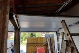 Гаражные подъёмно-секционные ворота Doorhan RSD02 в п. Лисий нос, фото 6