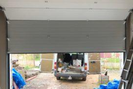 Гаражные подъёмно-секционные ворота DoorHan RSD02 в Пениках, фото 4