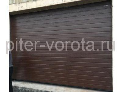 Гаражные подъёмно-секционные ворота DoorHan RSD02 в Пениках, фото 1