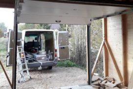 Гаражные подъёмно-секционные ворота DoorHan RSD02 в Петровском, фото 3