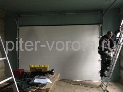 Гаражные подъёмно-секционные ворота Doorhan RSD02 в пгт Морозова, фото 1