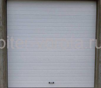 Гаражные подъёмно-секционные ворота Doorhan RSD02 в Приозёрске, фото 1