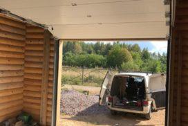 Гаражные подъёмно-секционные ворота Doorhan RSD02 в Сосновом бору, фото 2