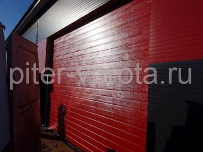 Гаражные подъёмно-секционные ворота DoorHan RSD02 в Санино, фото 1