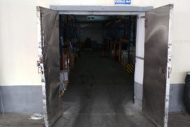 Скоростные ворота DoorHan SpeedRoll SDF на складе в Минске, фото 4