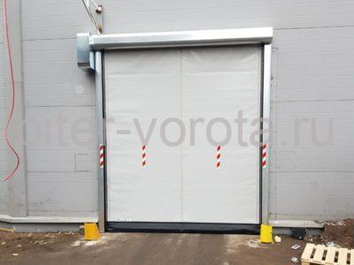 Скоростные ворота DoorHan SpeedRoll SDO на складе № 2 в СПб, фото 1
