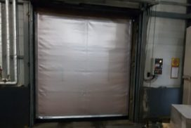 Скоростные ворота DoorHan SpeedRoll SDO на складе № 2 в СПб, фото 3