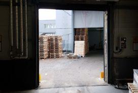Скоростные ворота DoorHan SpeedRoll SDO на складе № 2 в СПб, фото 2