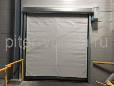 Скоростные ворота DoorHan SpeedRoll SDO на складе №1 в СПб, фото 1