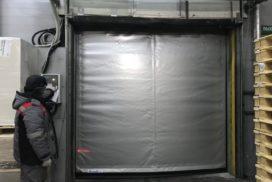 Скоростные ворота DoorHan SpeedRoll SDO на складе №1 в СПб, фото 2