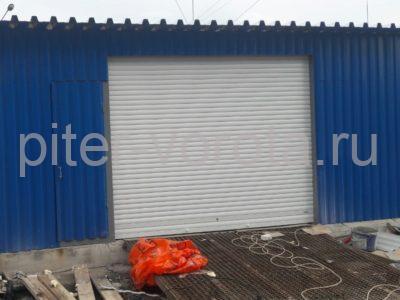 Роллетные ворота Doorhan из профиля RH58N в СПБ на Октябрьской набережной, фото 1
