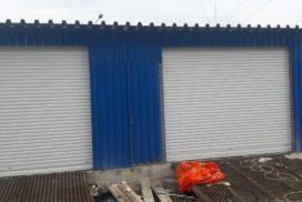 Роллетные ворота Doorhan из профиля RH58N в СПБ на Октябрьской набережной, фото 2