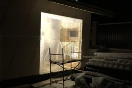 Гаражные подъёмно-секционные ворота Alutech Classic в Стрельцово, фото 5