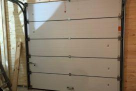 Гаражные подъёмно-секционные ворота Alutech Classic в Стрельцово, фото 14