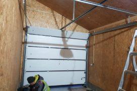 Гаражные подъёмно-секционные ворота Alutech Trend в Лебедевке, фото 4