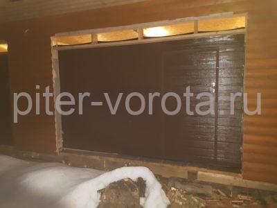 Гаражные подъёмно-секционные ворота DoorHan RSD02 в Дачном, фото 1