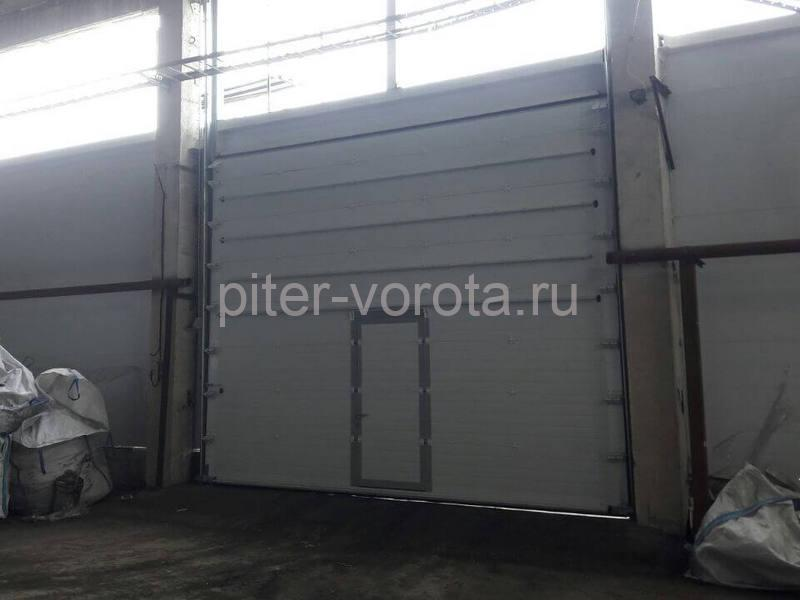 Промышленные подъёмно-секционные ворота на пер. Химический